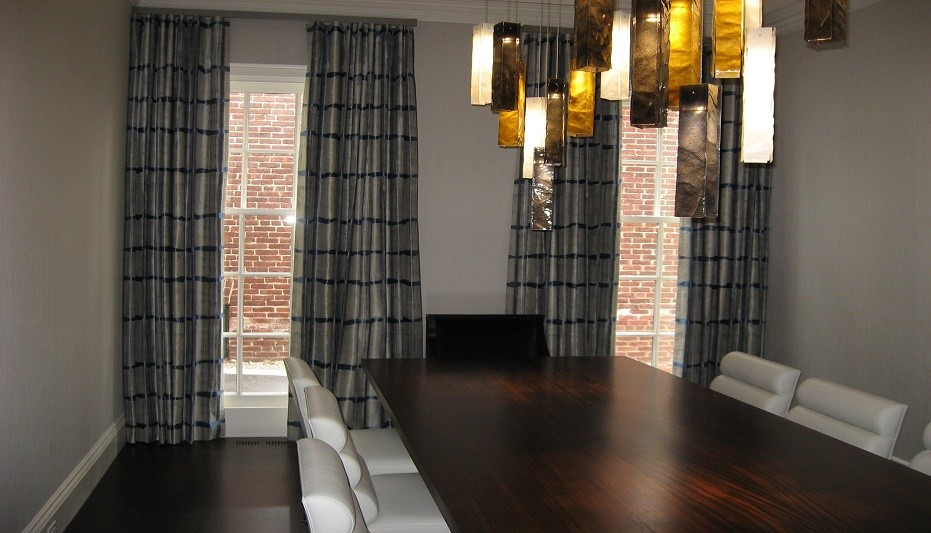 curtains and draperies for dining rooms nicole draperies draperies contemporary dining room other by flair21