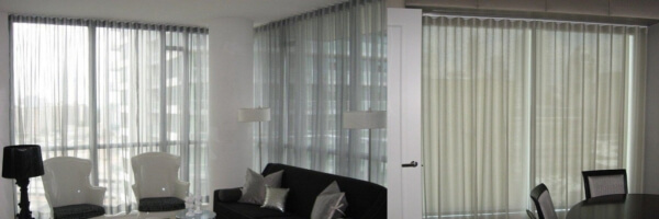 Shades With Curtains